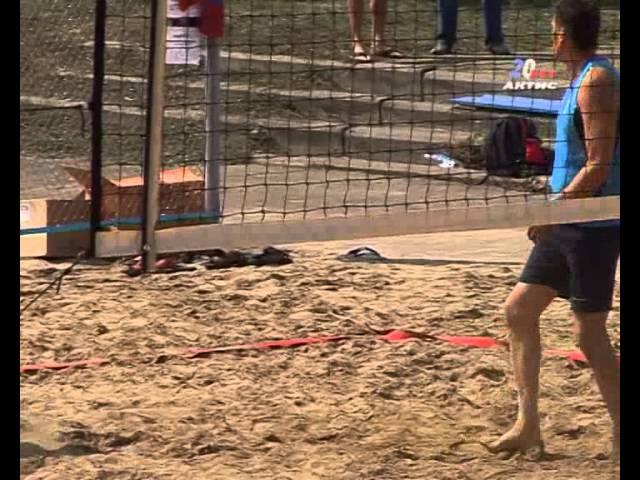 В Ангарске открылись две площадки пляжного волейбола