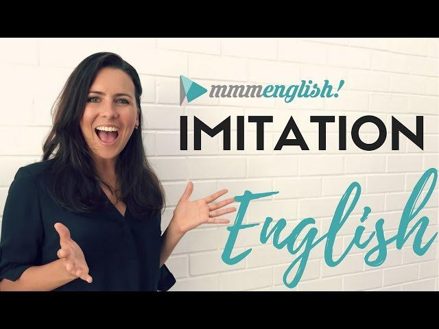 英语中imitation的视频发音