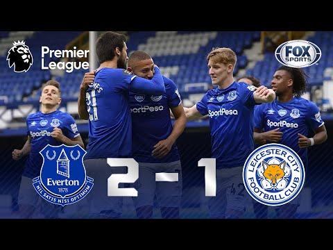 GOL DO POMBO! RICHARLISON BRILHA! Melhores momentos de Everton 2 x 1 Leicester pela Premier League