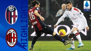 Bologna 2-3 Milan | The Rossoneri is back on track with a second victory in a row | Serie A