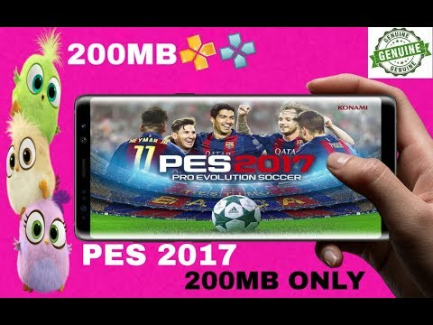 Pes 2017 200mb highly compressed psp android 2019 offline game new top