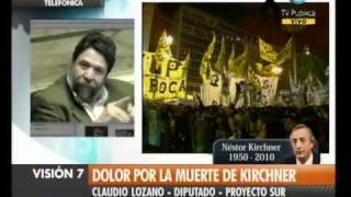 Visión Siete Falleció Néstor Kirchner 71