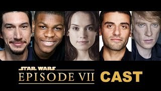 Star Wars Episode 7 Cast Confirmed! John Boyega, Daisy Ridley, Adam Driver - Beyond The Trailer