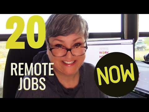 20+ REMOTE JOBS YOU Can Do Right Now! This is NOT a TIPS & TRICKS VID --These are REAL JOBS you...