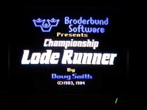 Championship Lode Runner disk drive music (Apple II - Broderbund)