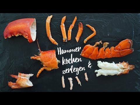 Hummer kochen & zerlegen - So geht das! Gourmondo Food Studio