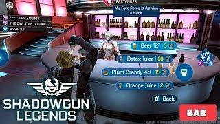 SHADOWGUN LEGENDS - UNLOCKING BAR ( DRINKING BEER ) - iOS / ANDROID GAMEPLAY