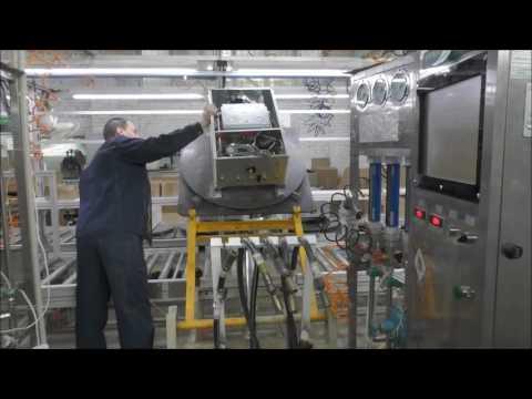 Производство российских газовых котлов на заводе Ардерия.
