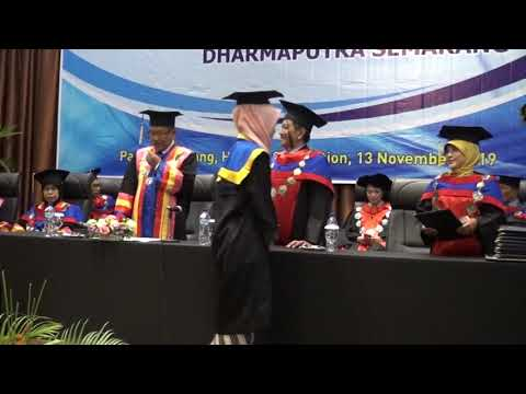 Wisuda STIE Dharma Putra Periode 2019 Part 3