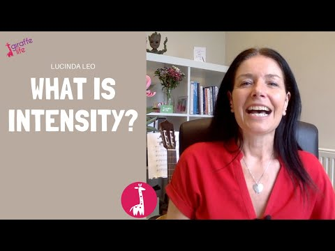 What is intensity? How does it differ from sensitivity?<br />What is Intensity?