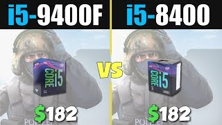 i5 9400f vs i5 8400 gtx 1060 6gb - TH-Clip