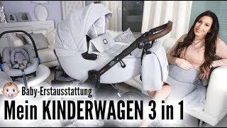 BABY ERSTAUSSTATTUNG | Der beste KINDERWAGEN? 3 in 1 mit Isofix | My Junior Vita Unique |MAYRA JOANN