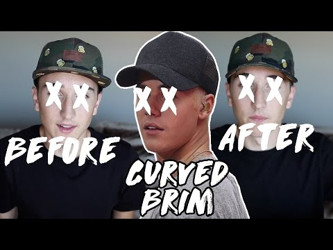 How To Curve Your Hat Brim