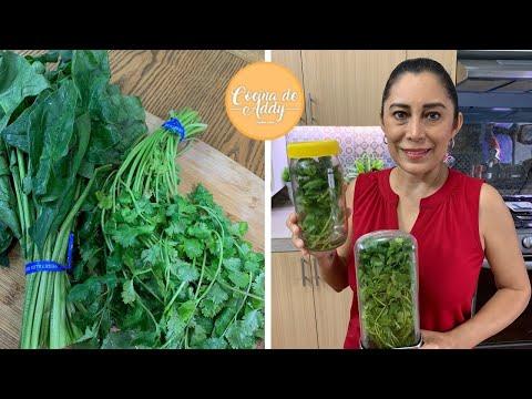 Consejos Para Lograr Conservar Bien Tus Verduras De Hoja Verde