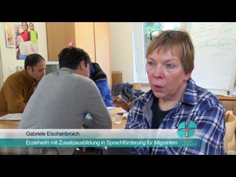 Deutschkurse im Familienzentrum St. Pantaleon, Jüchen