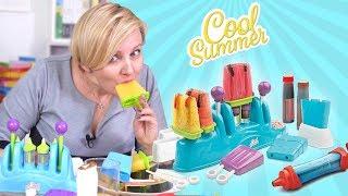 Pull Pops Cool Summer, Zestawy do robienia lodów, TM Toys