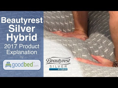 Beautyrest SILVER HYBRID Mattress Options Explained by GoodBed (VIDEO)