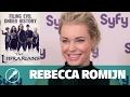 Interview — Rebecca Romijn dans Flynn Carson et les nouveaux aventuriers