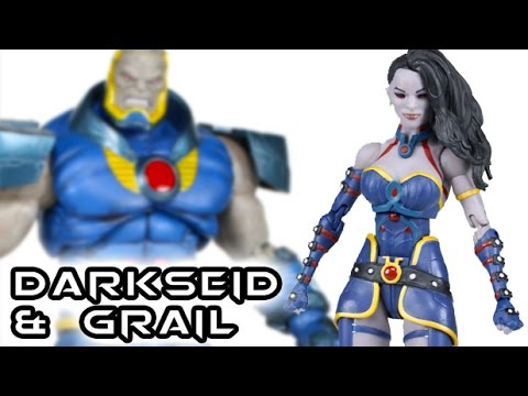 DC Collectibles Icons DARKSEID & GRAIL Action Figure Toy Review