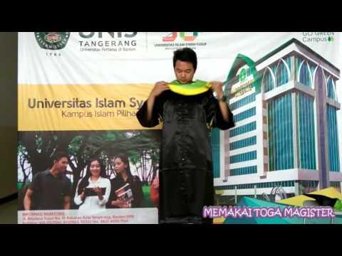 Video Tutorial Menggunakan Toga UNIS Tangerang