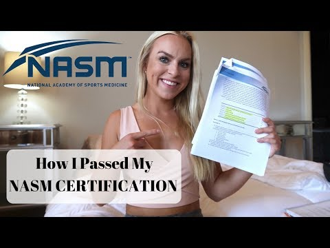 How I Passed My NASM test | Last Minute Studying Tips + ...