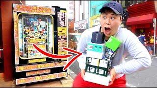 $10000 MYSTERY BOX VENDING MACHINE!!! (WON EVERYTHING)
