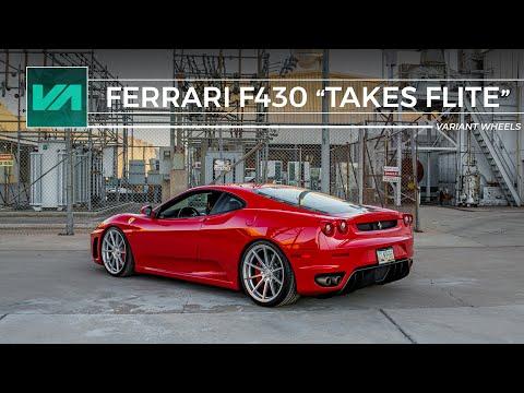 "Ferrari F430 ""Takes Flite"" // Variant Wheels"