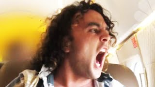 Passenger Freaks Out on Private Jet