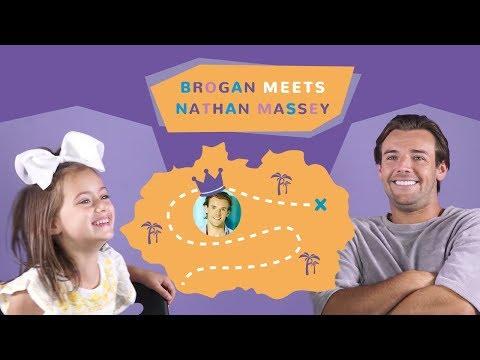 KIDS KNOW INTERVIEWS | BROGAN MEETS LOVE ISLAND'S NATHAN MASSEY