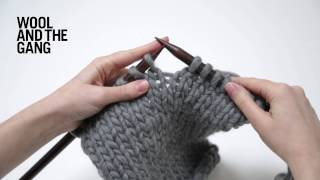How to Knit: Increase (make 1)