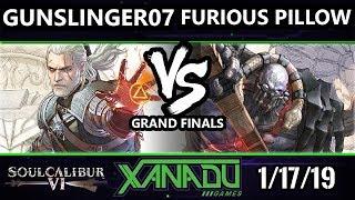 F@X 285 Soul Calibur VI - gunslinger07 [L] (Geralt) Vs. Furious Pillow (Astaroth) - SCVI Grand Final