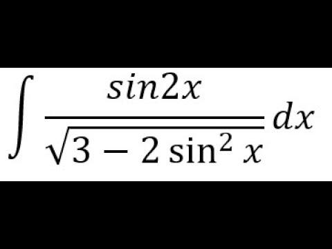 مسألة فى التكامل بالتعويض للمراجعه | adelyousef | الرياضيات : التفاضل والتكامل الصف الثالث الثانوى الترمين | طالب اون لاين