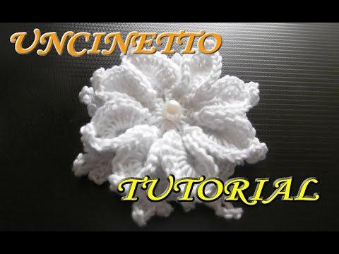 Bomboniera Fiore Alluncinetto Tutorial Crochet смотреть онлайн