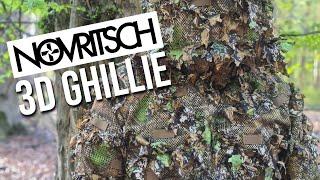 Novritsch 3D Ghillie Suit Unboxing und Test | Deutsch