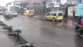 inondation à la cité- verte après la pluie ehhh
