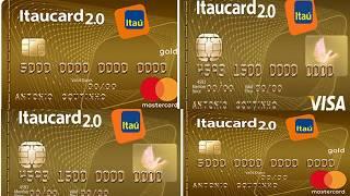 Cartão Itaú Mastercard ou Visa Gold agora sem anuidade