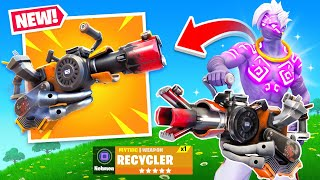 *NEW* RECYCLER GUN in Fortnite! (Is It GOOD or BAD?)