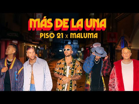 Piso 21 - Mas de la una (feat. Maluma)