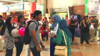 Projek Senyum Kuala Lumpur 2015: FLASH MOB at KL SENTRAL