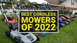 Best Battery Lawnmower and Gas Mower Head to Head - 24 Models Tested