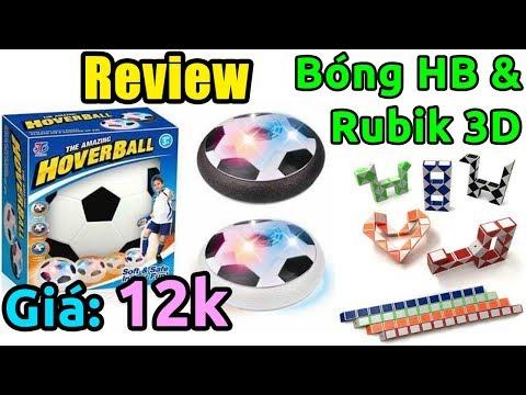 Trên tay Bóng Đá Hover Ball và Rubik 3D thần kỳ