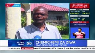 Chemichemi za ziwa: Watu wahama makazi yao baada ya ziwa Nakuru kuchipuka kutoka chini