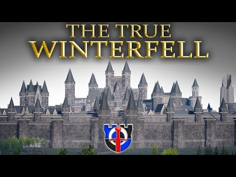 The True WINTERFELL according to the books, full 3d model, tour and comparison