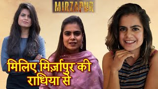 Mirzapur Girl Prashansa Sharma SPEAKS UP!