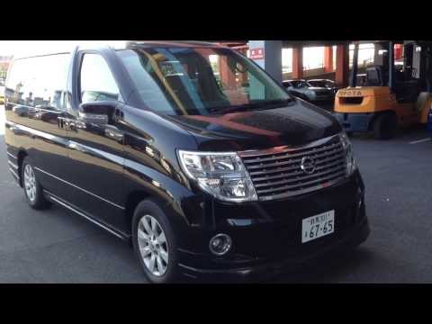 2005 NISSAN Elgrand Series 2 Leather / Sunroof Edition @ Edward Lee's