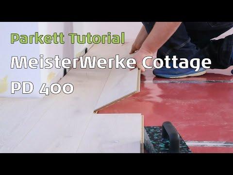 Meisterwerke Parkett Eiche Landhausdiele geölt Cottage PD 400