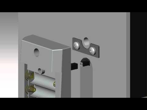 Cerradura para hoteles LH5000 guía de instalación