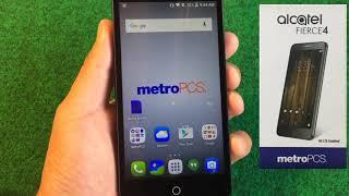 How To Unlock MetroPCS or T-Mobile ALCATEL FIERCE 4 (5056N & 5056W).
