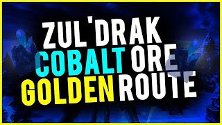 Cobalt Ore Golden Route Zul'Drak Save This Ore For BfA World Of Warcraft Gold Guide