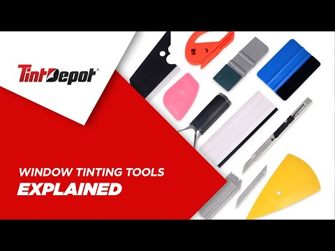 Window Tinting Tools Explained for Beginners